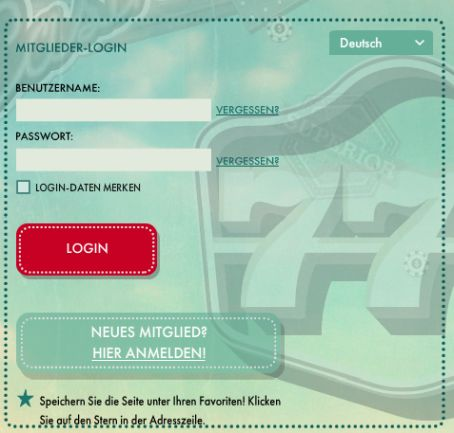 777 Casino Registrierung