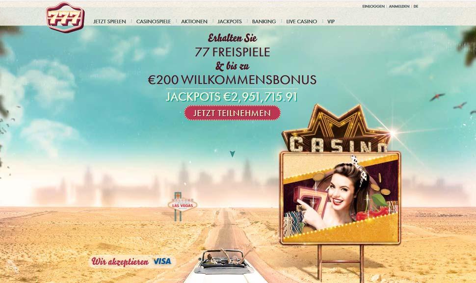 777 Casino Vorschau