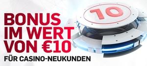 10 Euro Bonus bei Betfair