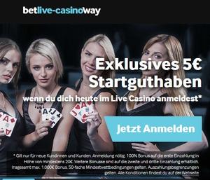 Casino mit 5 euro bonus