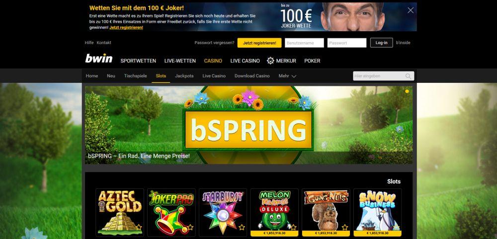 bwin online casino spielautomaten gratis spielen