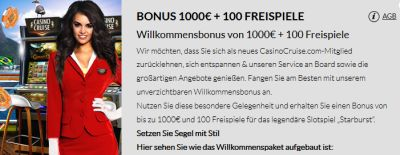 Casino Cruise Bonusspiele