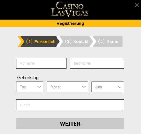 Casino Las Vegas Registrierung