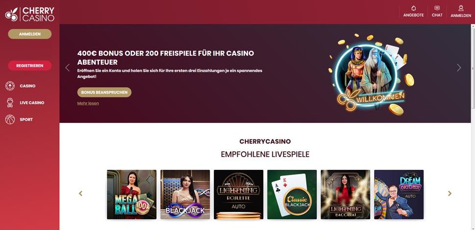 Cherry Casino Vorschau