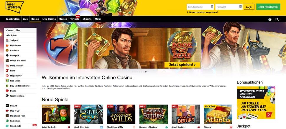 Interwetten Casino Vorschau