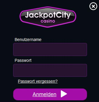 Jackpot City Casino Registrierung