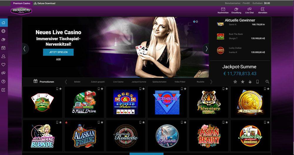 Jackpot City Casino Vorschau