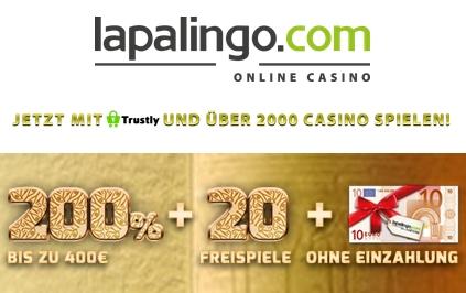 10€ Gratis bei Lapalingo