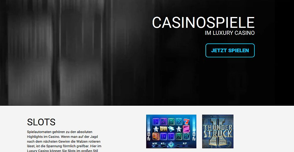 luxury casino bonus ohne einzahlung