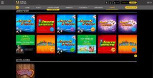 Mega Casino Videopoker