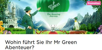Mr Green Angebot