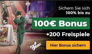 Mr Green Freispiele Bonus Angebot