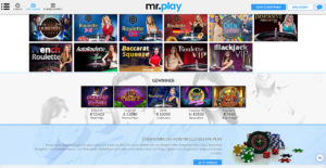 Mr Play Live Casino