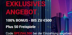 500€ Pokerstars Casino Bonus