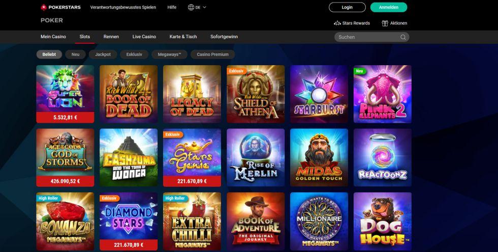 Pokerstars Casino Startseite