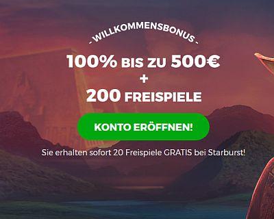 500€ Spintastic Bonus