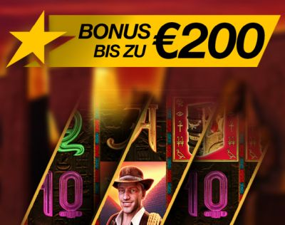 200 Euro Bonus im Stargames Casino