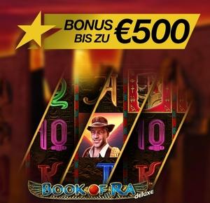 500 Euro Bonus im Stargames Casino