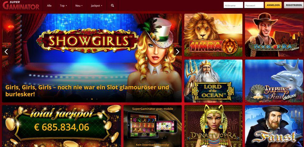 Supergaminator Casino Vorschau