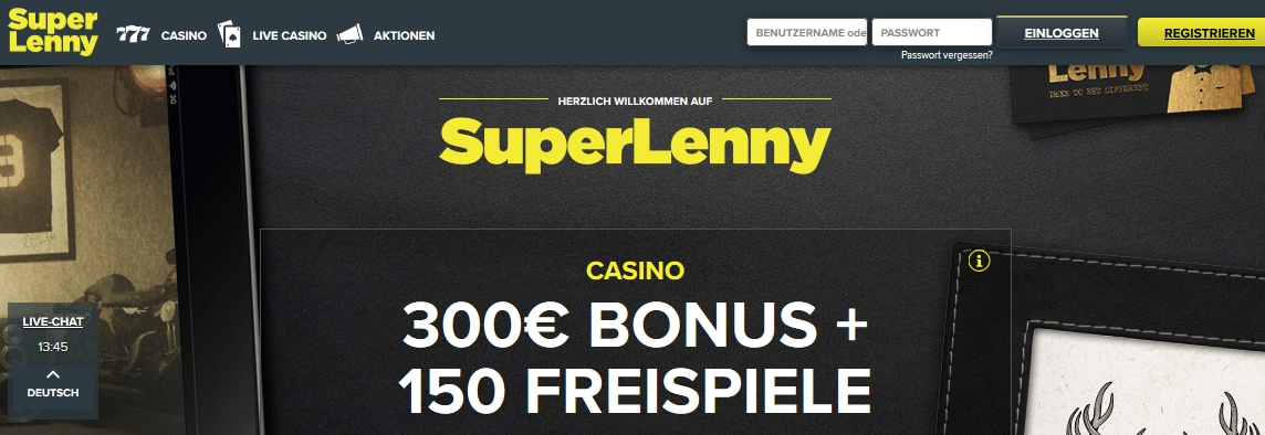 superlenny bonus code