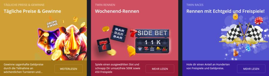 Twin Casino Promotionen