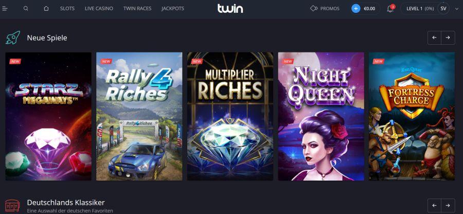 Twin Casino Startseite
