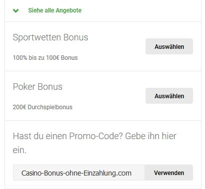 unibet bonus ohne einzahlung