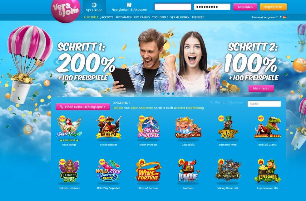 Vera & John Casino Startseite