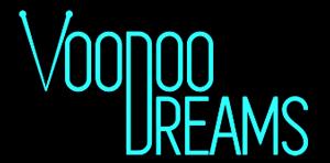 VooDoo Dreams Casino Schriftzug