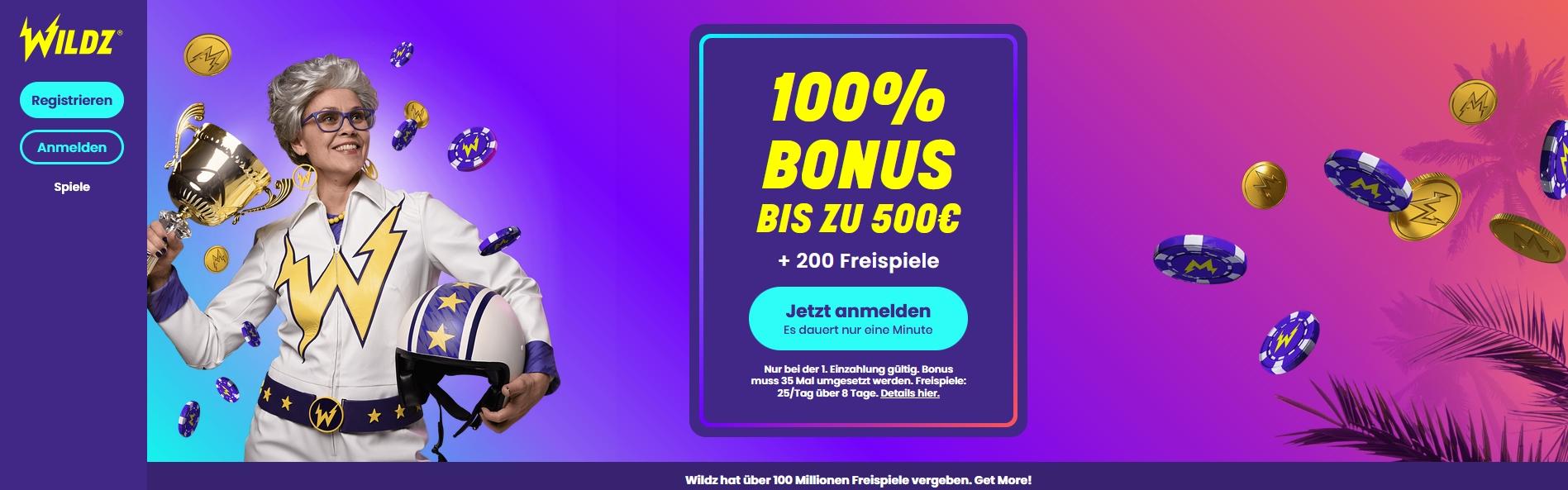 200 Online Casino Bonus