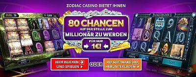 zodiac casino 80 freispiele